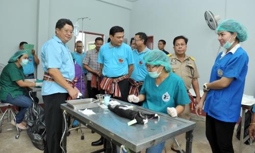 (ตัวอย่าง) โครงการสัตวแพทย์พระราชทานฯ จังหวัดบุรีรัมย์